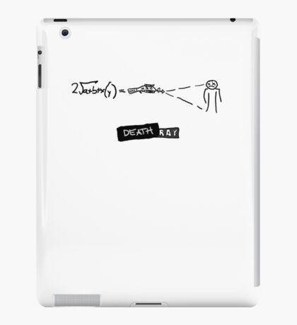 DR HORRIBLE - Death ray iPad Case/Skin