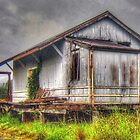 It Used To Be A Railway Shed by Michael Matthews