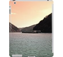 Danube river ship at evening | waterscape photography iPad Case/Skin
