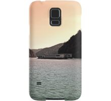 Danube river ship at evening | waterscape photography Samsung Galaxy Case/Skin