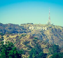 Hollywood Sign by Marsstation