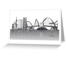 Brasilia city skyline Greeting Card
