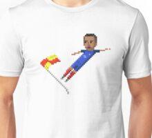Corner flag flying kick Unisex T-Shirt