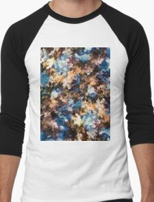 Fall in the Rockies (Right Panel) by Lena Owens Men's Baseball ¾ T-Shirt