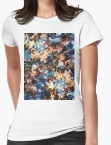 Fall in the Rockies (Right Panel) by Lena Owens Womens Fitted T-Shirt
