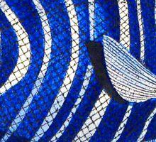 FISH TROPICAL BLUE Sticker