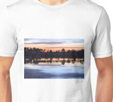 Sunrise on Webb Lake Unisex T-Shirt