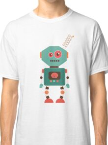 Fun Retro Robot Art Classic T-Shirt