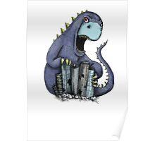 Dinosaur attack! Poster
