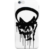 Graffiti skull iPhone Case/Skin