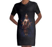 Shiva Graphic T-Shirt Dress