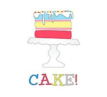 Cake! Photographic Print