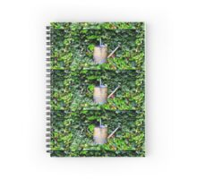 Watering Can & Ivy Spiral Notebook