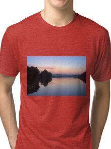 Another Swamp Sunrise Near Home Tri-blend T-Shirt