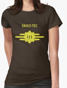 Fallout 4 - Vault 111 Womens Fitted T-Shirt