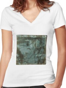 Vintage Photo Women's Fitted V-Neck T-Shirt