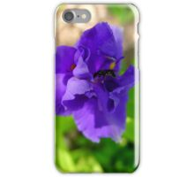 Purple Flower & Insect iPhone Case/Skin