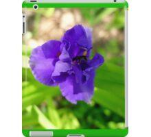 Purple Flower & Insect iPad Case/Skin