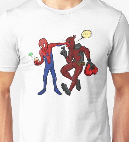 go ahead finish your tweet Unisex T-Shirt