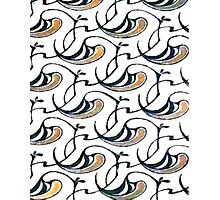 Art Nouveau Flourish Photographic Print
