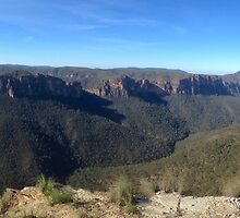 Baltzer's Lookout, Blackheath NSW by GeorgeOne
