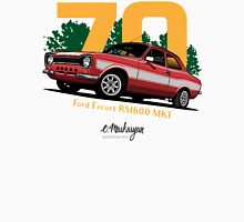 Ford Escort RS1600 (red) Unisex T-Shirt
