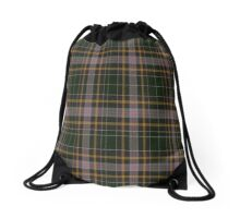 02540 Ocean County, New Jersey Fashion Tartan  Drawstring Bag