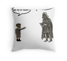 Mummy or Father Throw Pillow