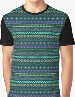 Color the Pattern Graphic T-Shirt