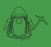 Dwarf Gonk - A Gonk's Journey One Piece - Short Sleeve