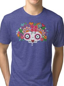 Catrina Skelly Tri-blend T-Shirt