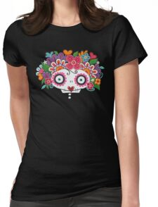 Catrina Skelly Womens Fitted T-Shirt