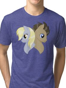 The Companion and the Doctor Tri-blend T-Shirt