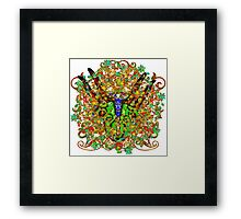 Armorial Secateurs One Framed Print
