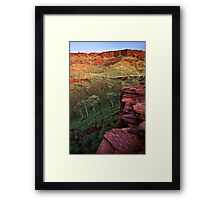 The Painted Pilbara Framed Print