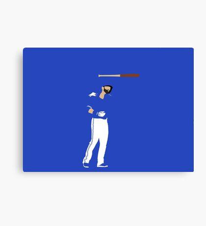 Joey Bat Flip Canvas Print