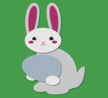 Super cute simple Easter Bunny with an egg Kids Clothes