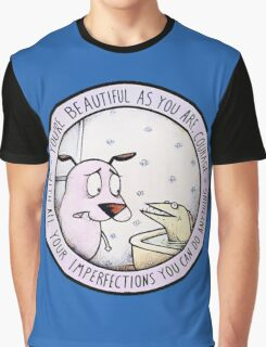 Courage the Cowardly Dog Graphic T-Shirt