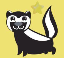 Cute little skunk Baby Tee