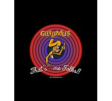 Gililimus : That's me folks! Photographic Print