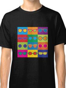 Pop Art Eyeglasses Classic T-Shirt