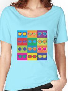 Pop Art Eyeglasses Women's Relaxed Fit T-Shirt