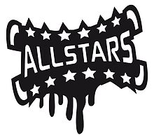 Cool Allstars graffiti stamp by Style-O-Mat
