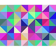 Geometric Shapes Photographic Print