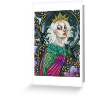 Zorya Greeting Card