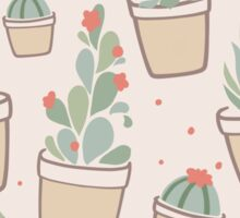 Cactus and Succulent Plants Sticker