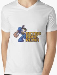 RGR Character & Logo Mens V-Neck T-Shirt