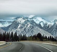 The Canadian Rockies  by Dyle Warren