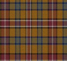 02526 Davidson County, Tennessee Fashion Tartan  Sticker