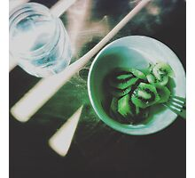 Eat Your Greens Photographic Print